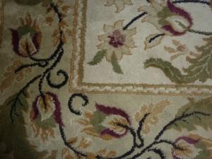 A very clean rug.