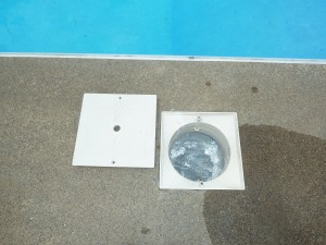Never turn your back on a pool skimmer.  They are very mischievous.