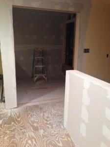 New pantry sans stairway